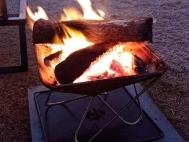 篝火和手提袋